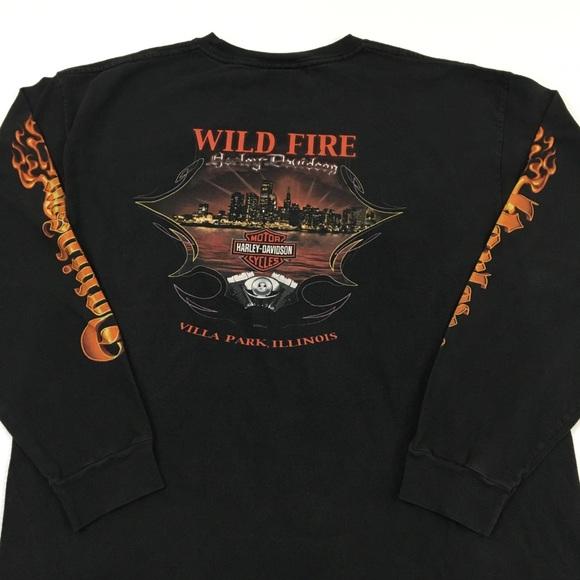 82f5f0f0 Harley-Davidson Other - Villa Park Illinois Harley Davidson Tee T Shirt XL